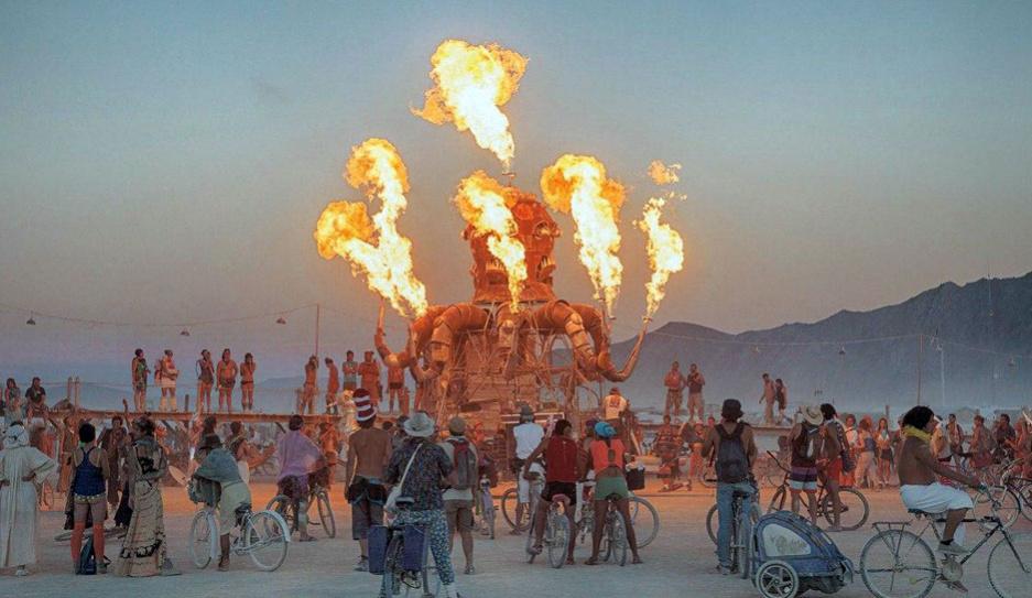 Фестиваль Burning Man впервые в истории отменили