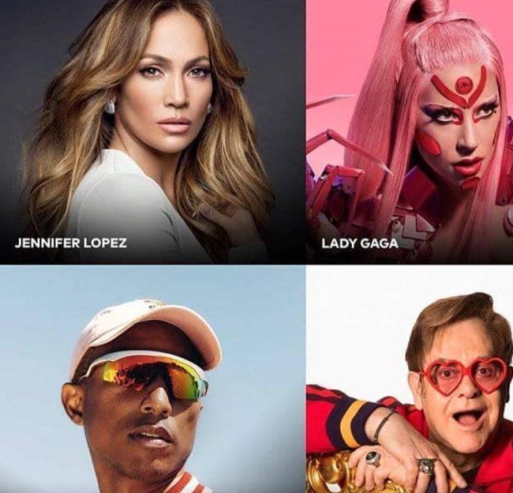 Джей Ло, Леди Гага, Билли Айлиш и другие звезды в сегодняшнем онлайн-концерте