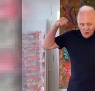 Видео дня: танец новоиспеченного тиктокера Энтони Хопкинса