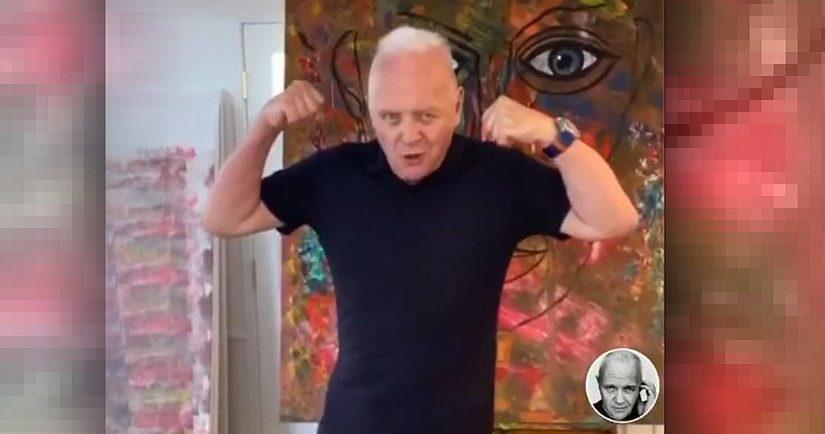 Відео дня: танець новоспеченого тіктокера Ентоні Гопкінса