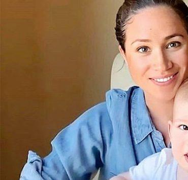 Сыну Меган Маркл и принца Гарри –1 год: новое видео с малышом Арчи