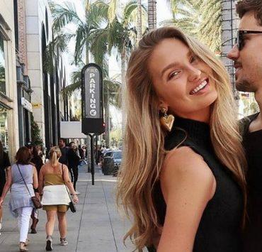Модель Victoria's Secret Роми Стрейд и ее парень впервые станут родителями