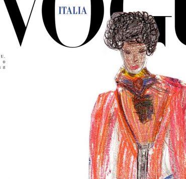 Жизнь после пандемии: обложку Vogue Италия нарисовали дети