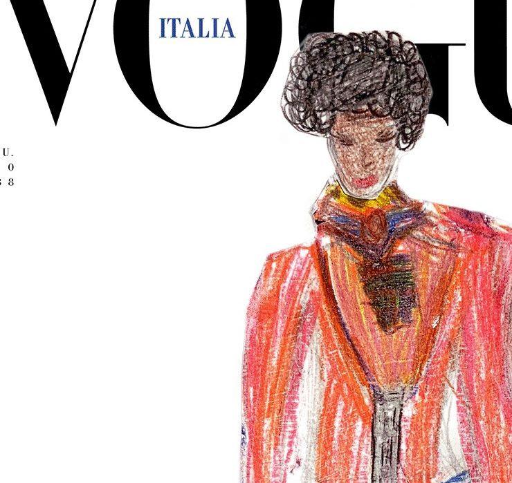 Життя після пандемії: обкладинку Vogue Італія намалювали діти