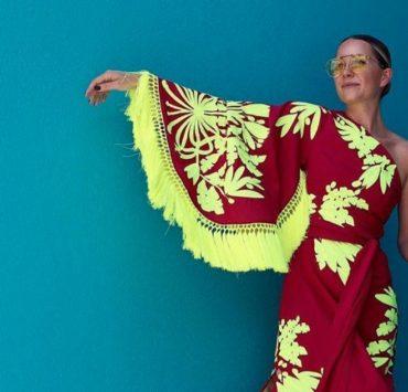 #Носители: Блэр Эди в платье от Юлии Магдыч