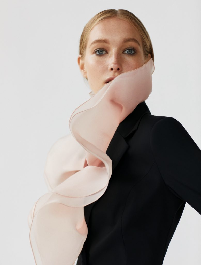 Новые имена: Екатерина Зуб в дебютной съемке бренда Natalya Novitska SS'20