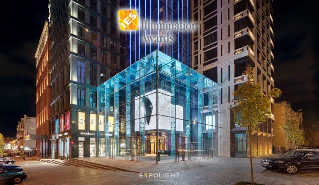 Українська компанія Expolight отримала відразу три нагороди на всесвітньому конкурсі світлового дизайну
