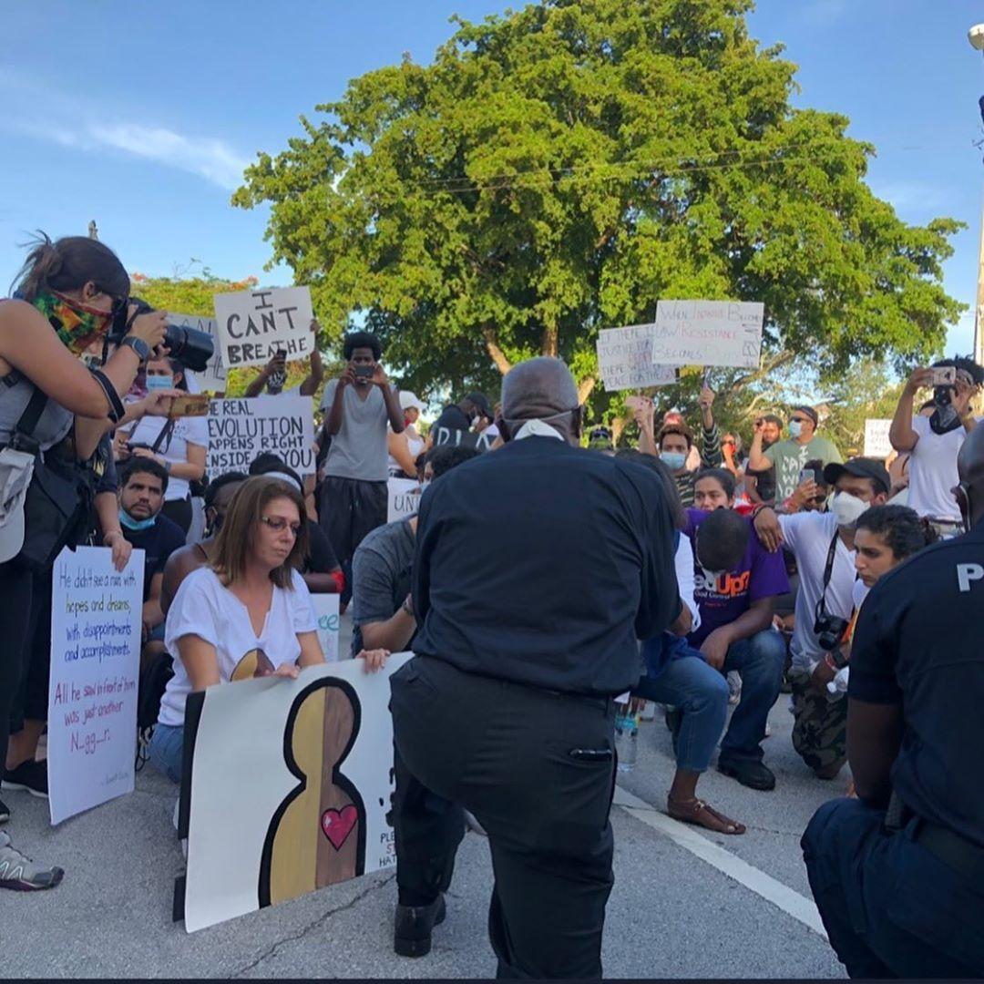 Волна солидарности: по всему миру проходят митинги в поддержку Джорджа Флойда