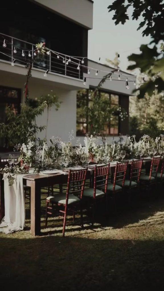 Ужин в саду: Санта Димопулос устроила званый вечер для друзей