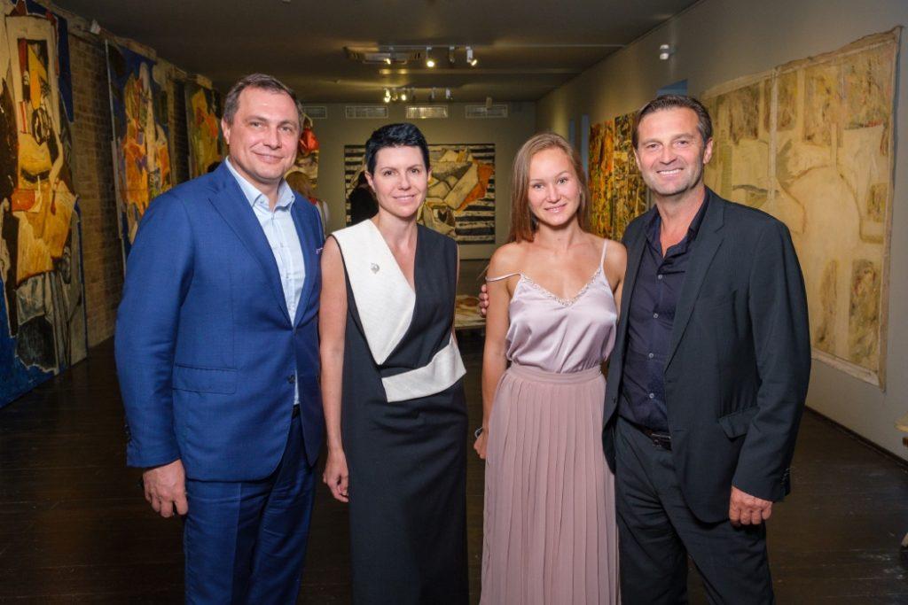 Открытие выставки Василия Бажая в Щербенко Арт Центре