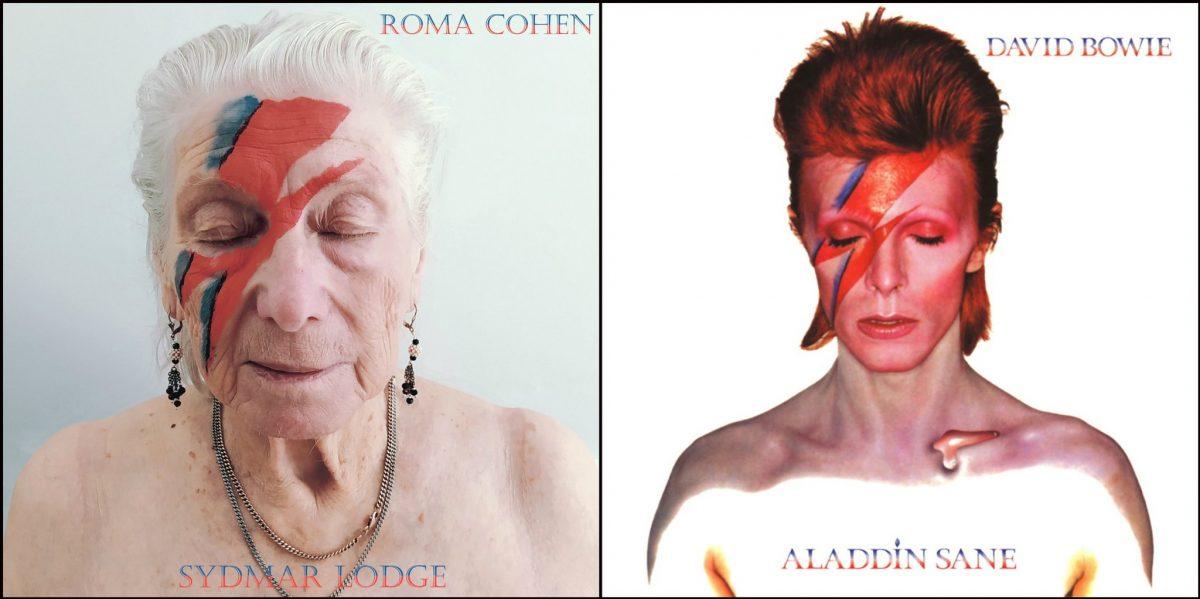 Вечно молоды: пожилые люди повторили культовые обложки альбомов