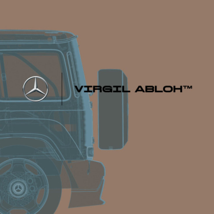 Вирджил Абло создаст арт-дизайн Гелендвагена для аукциона Mercedes-Benz