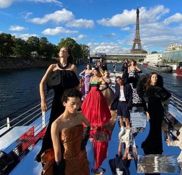 Як це було: кутюрне шоу Balmain на Сені