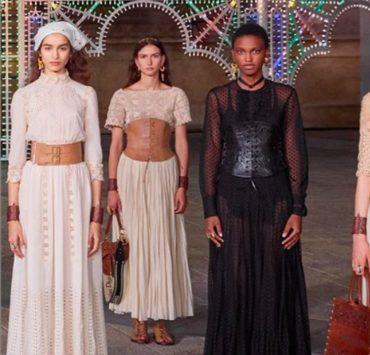 Живий оркестр, старовинний собор і танці: Dior презентував круїзну колекцію 2021