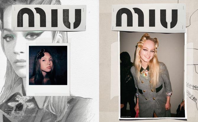 Джіджі Хадід зняла бекстейдж рекламного кампейну Miu Мiu