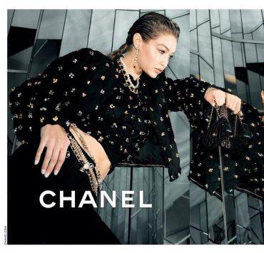 Джиджи Хадід стала обличчям нової рекламної кампанії Chanel