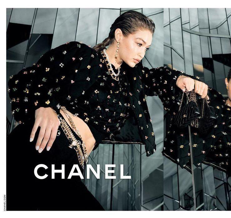 Джиджи Хадид стала лицом новой рекламной кампании Chanel