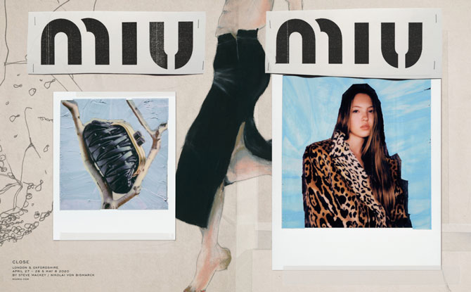 Джиджи Хадид сняла бэкстейдж рекламного кампейна Miu Miu