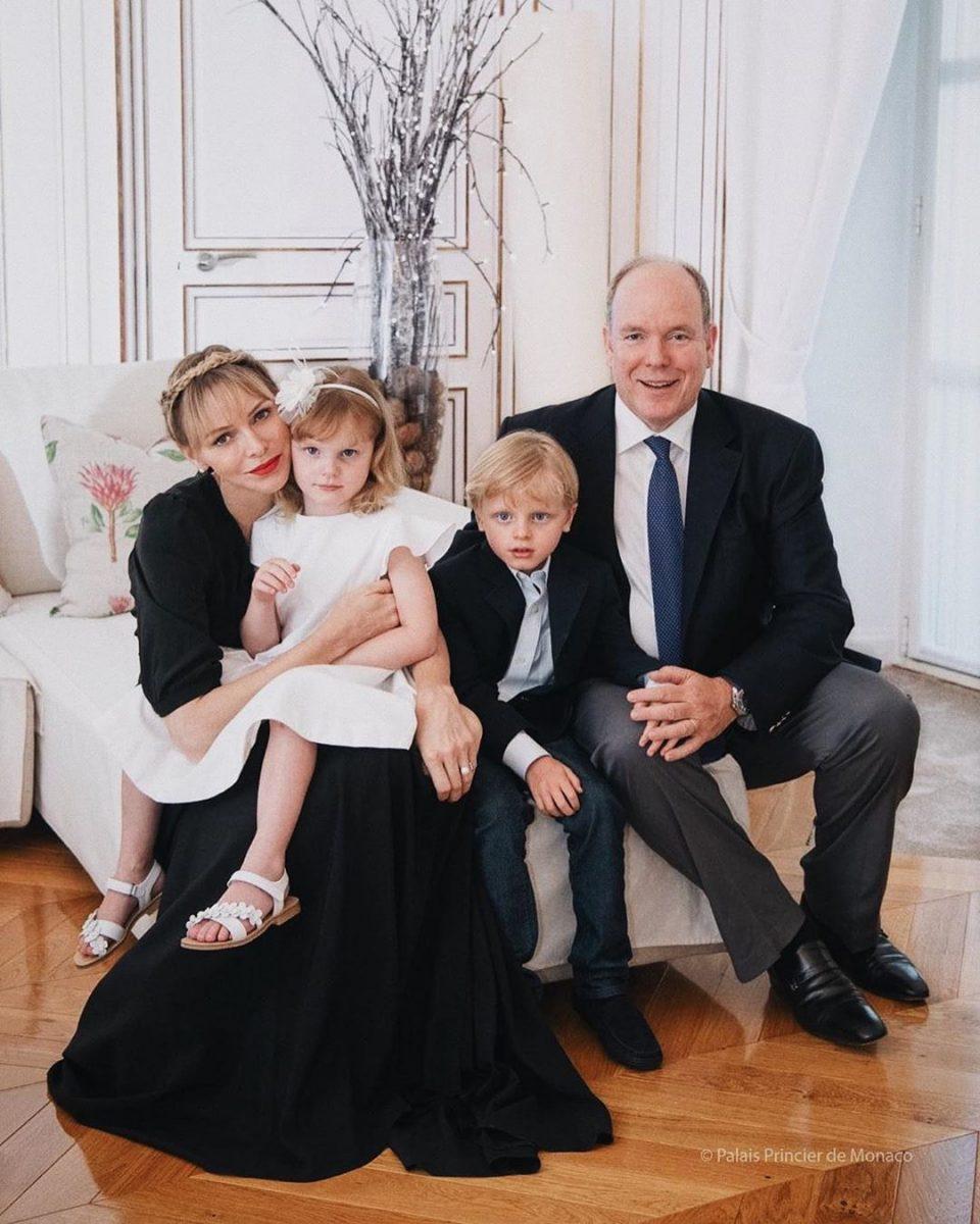 Князь Альберт и княгиня Шарлен отметили девятую годовщину свадьбы