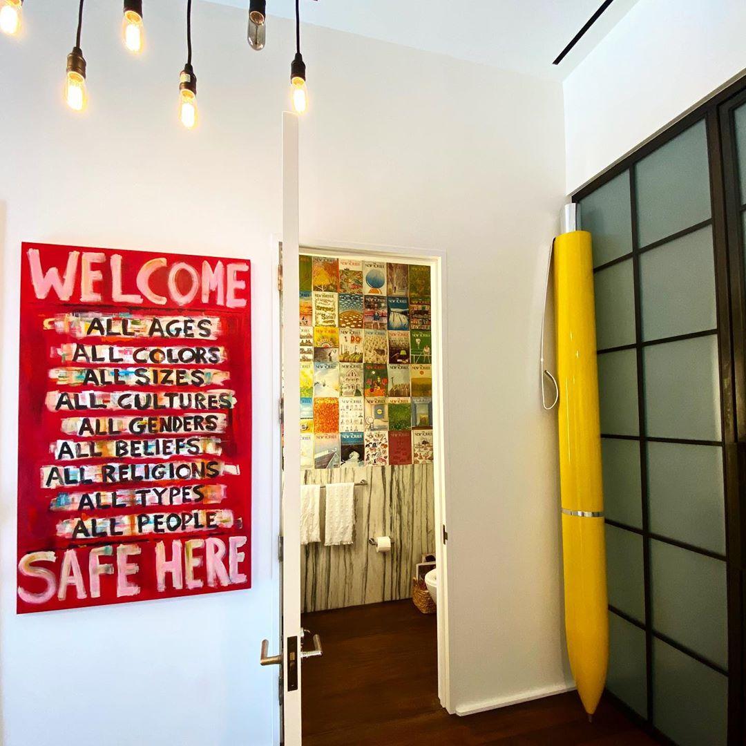 Джіджі Хадід показала апартаменти, дизайн яких придумала сама