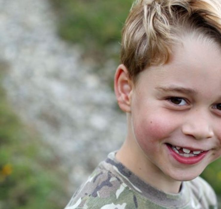 Совсем взрослый: новый официальный портрет принца Джорджа к семилетию