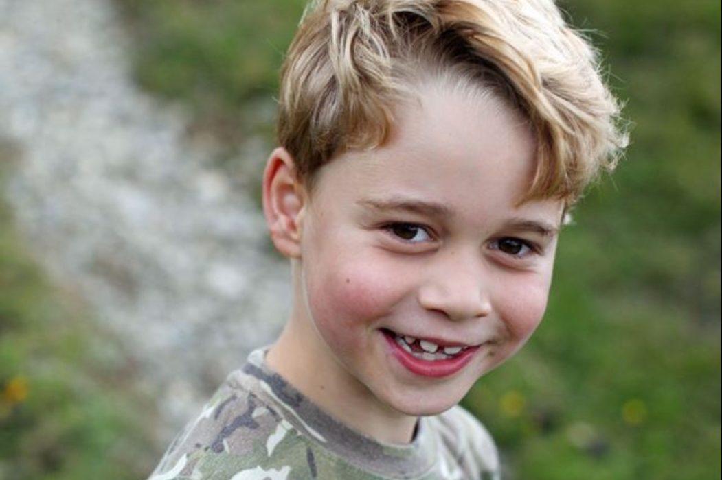 Зовсім дорослий: новий офіційний портрет принца Джорджа до семиріччя