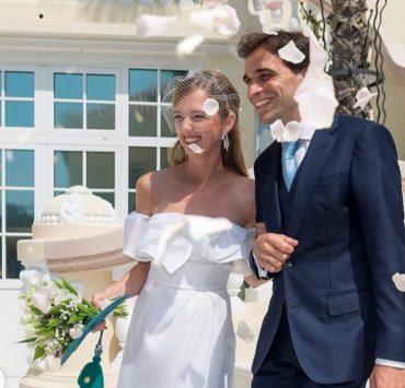 Свадьба-сюрприз: эрцгерцогиня Элеонора фон Габсбург и гонщик Жером д'Амброзио поженились в Монако
