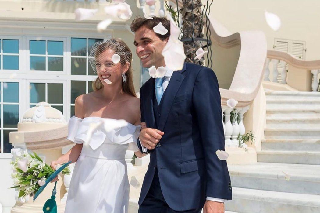 Весілля-сюрприз: ерцгерцогиня Елеонора фон Габсбург і гонщик Жером Д'Амброзіо одружилися в Монако