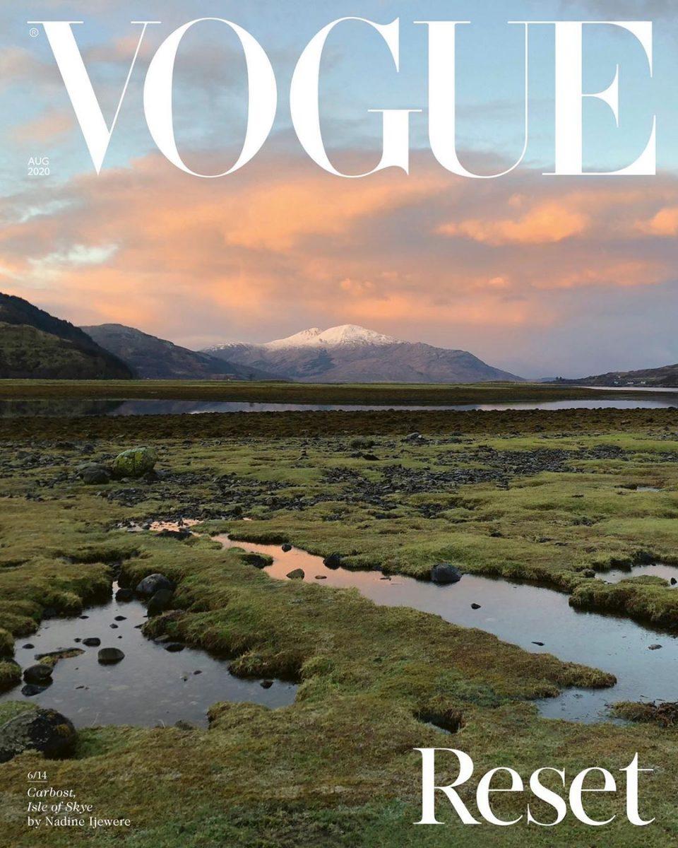 Мода для благотворительности: 14 арт-обложек VogueUK продадут на аукционе