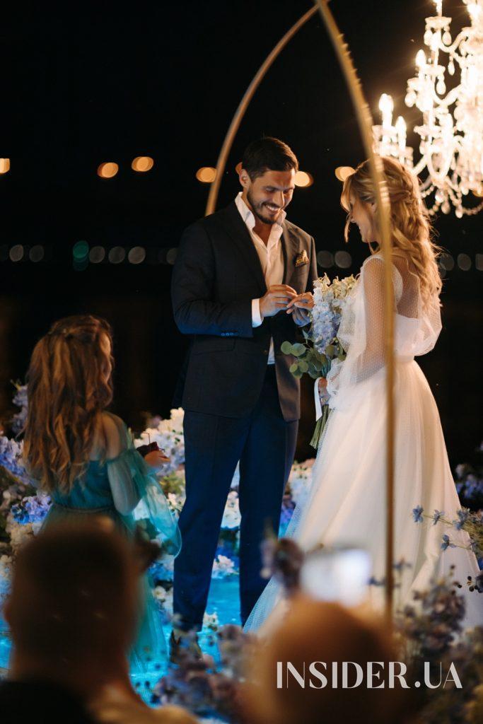 Wedding Day: нові світлини з весілля Микити Добриніна і Дар'ї Квіткової