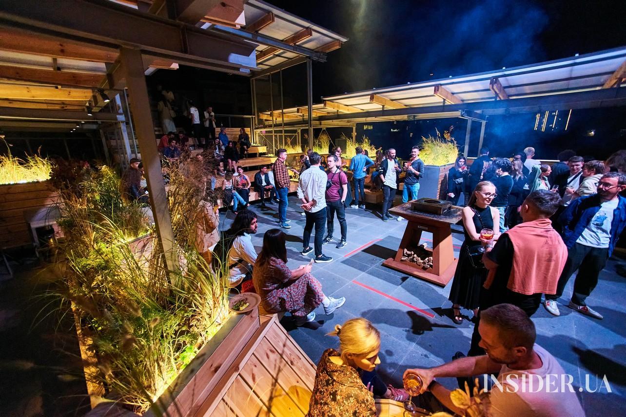Вечірка-відкриття тераси Kooperativ
