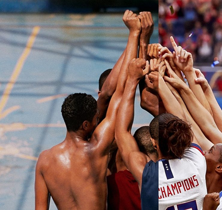 Порция мотивации в рекламном ролике Nike со спортсменами со всего мира