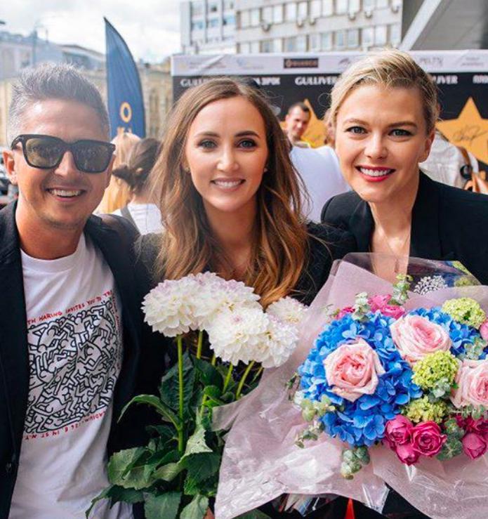 Ганна Різатдінова отримала зірку на Площі зірок у Києві