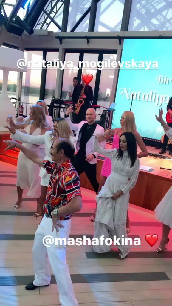 Insta-репортаж: Оля Полякова, Надя Дорофєєва та інші зіркові гості ювілею Наталі Могилевської