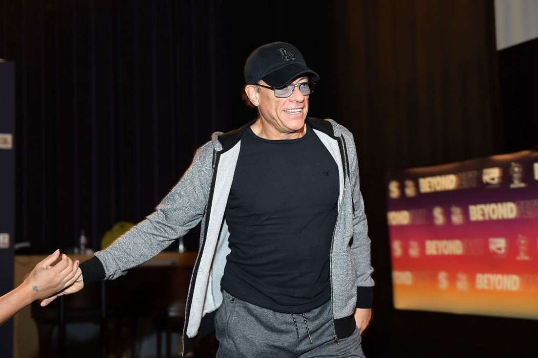 Звездный гость: Жан Клод Ван Дамм на съемках в Киеве
