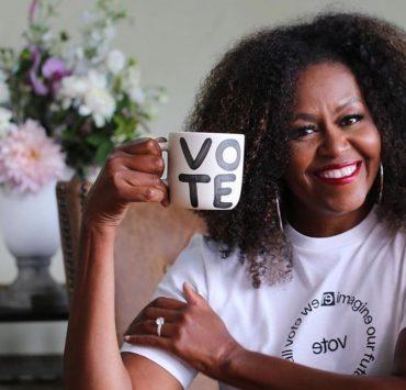 Красивий хід: як Мішель Обама за допомогою помади закликає голосувати на президентських виборах