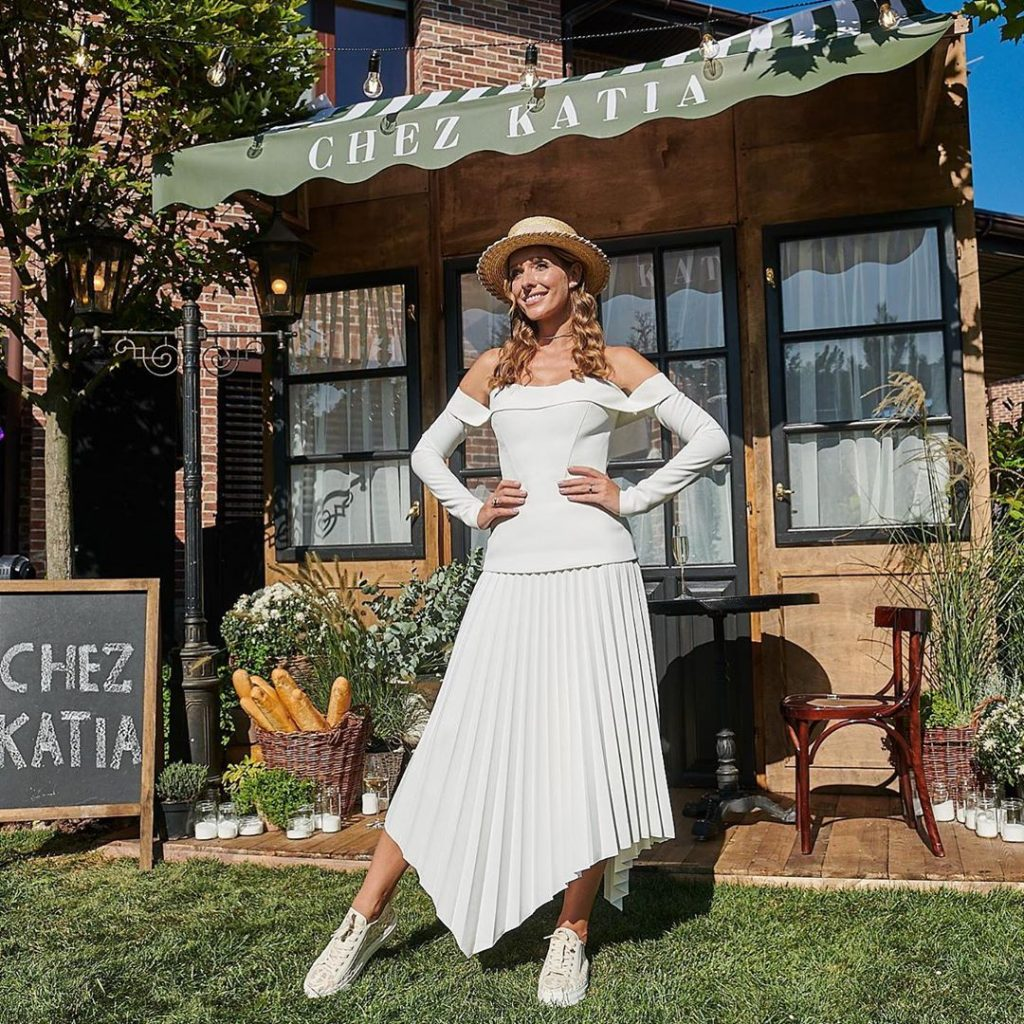 Chez Katia: Оля Полякова, Настя Каменских и Дмитрий Шуров на вечеринке Кати Осадчей