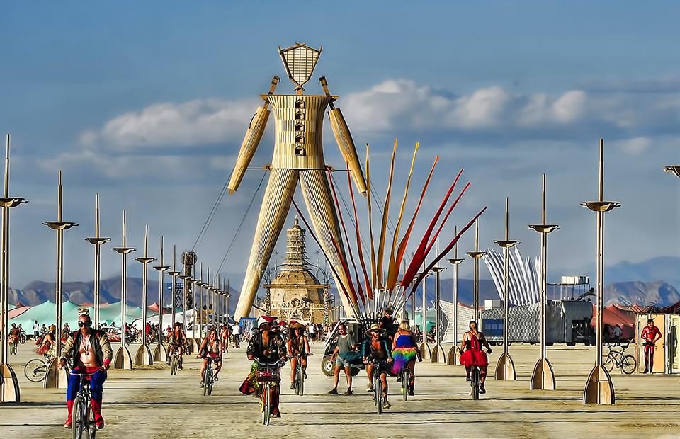 Burning Man 2020 стартовал в диджитал-формате