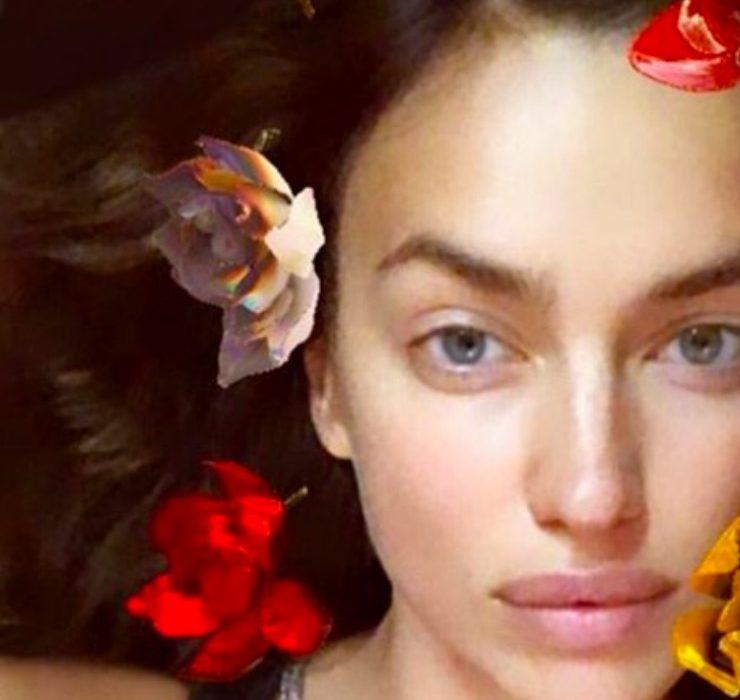 Тина Кунаки, Ирина Шейк и другие звезды примерили Instagram-маску Ruslan Baginskiy