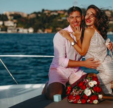 Свадьбы не будет: Владимир Остапчук и «танцующий нотариус» Кристина Горняк переносят торжество