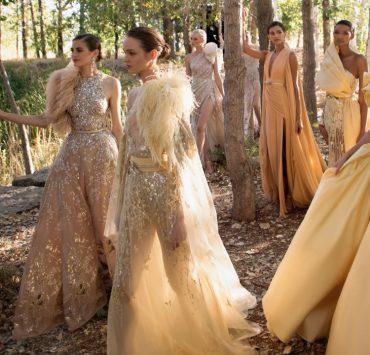 Эксклюзив: украинские модели о непростых съемках в новом кампейне Elie Saab Haute Couture