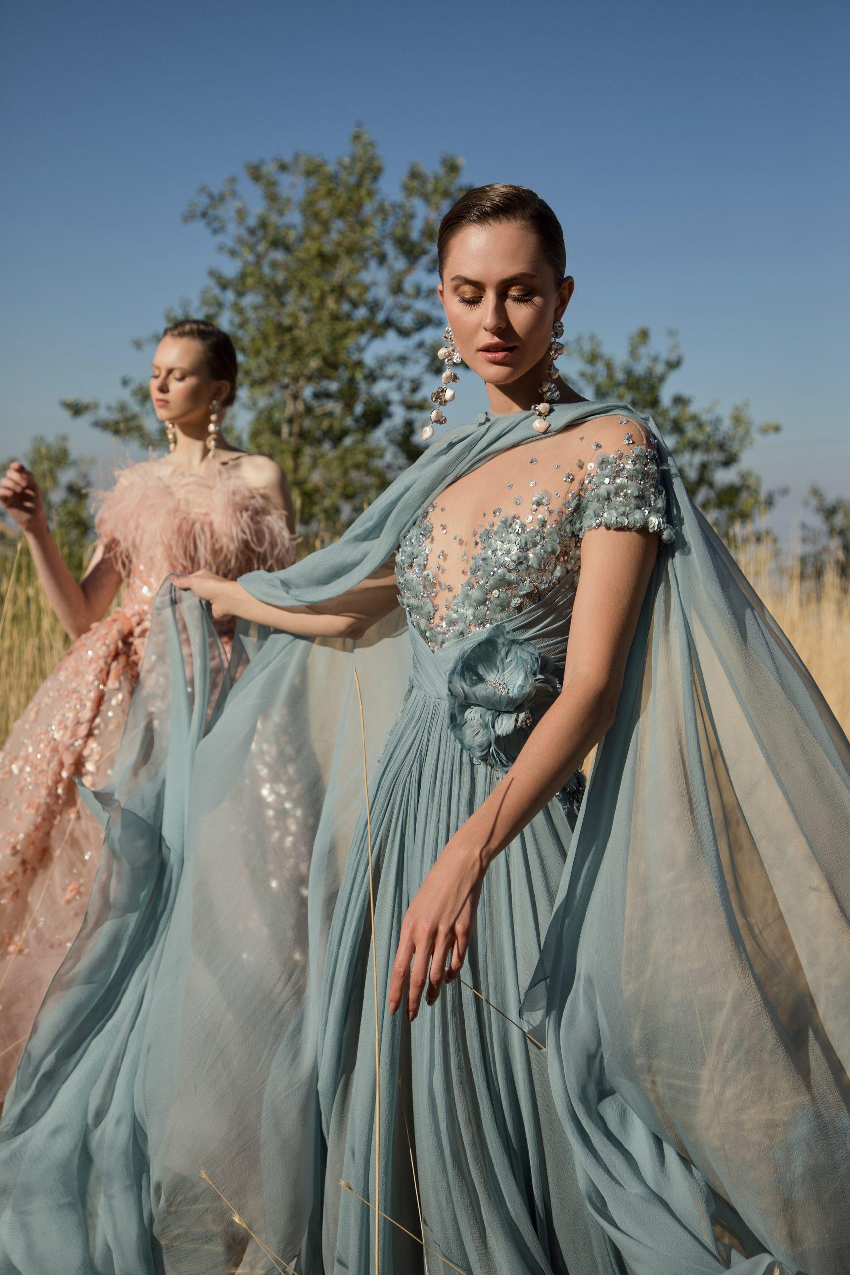 Ексклюзив: українські моделі про непрості зйомки в новому кампейні Elie Saab Haute Couture
