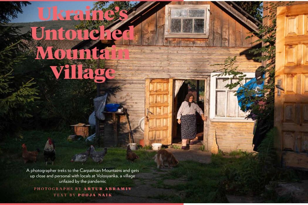 Карпаты во время пандемии в объективе львовского фотографа попали в сентябрьский номер National Geographic