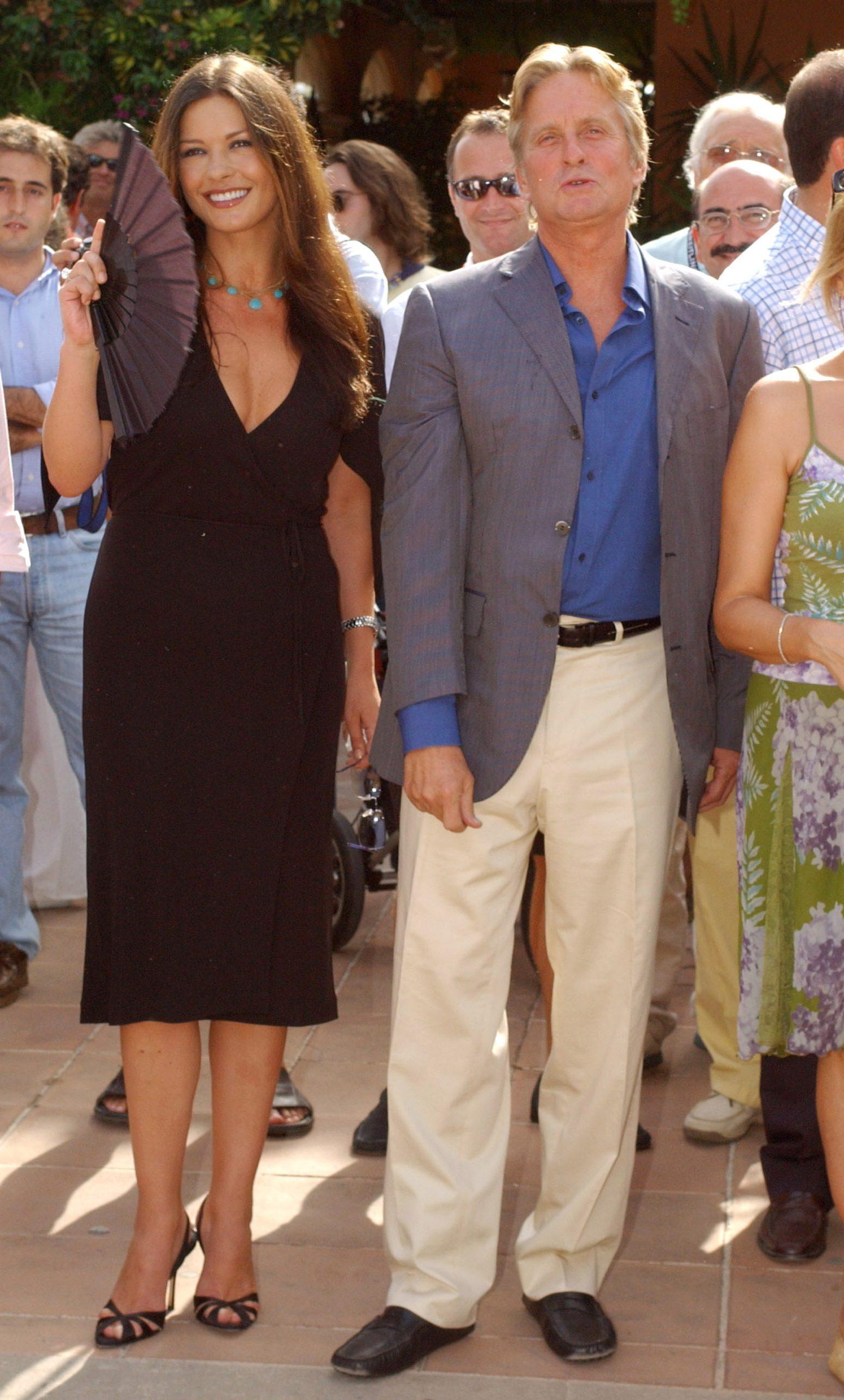 Какая пара! 20 фото именинников Майкла Дугласа и Кэтрин Зеты-Джонс