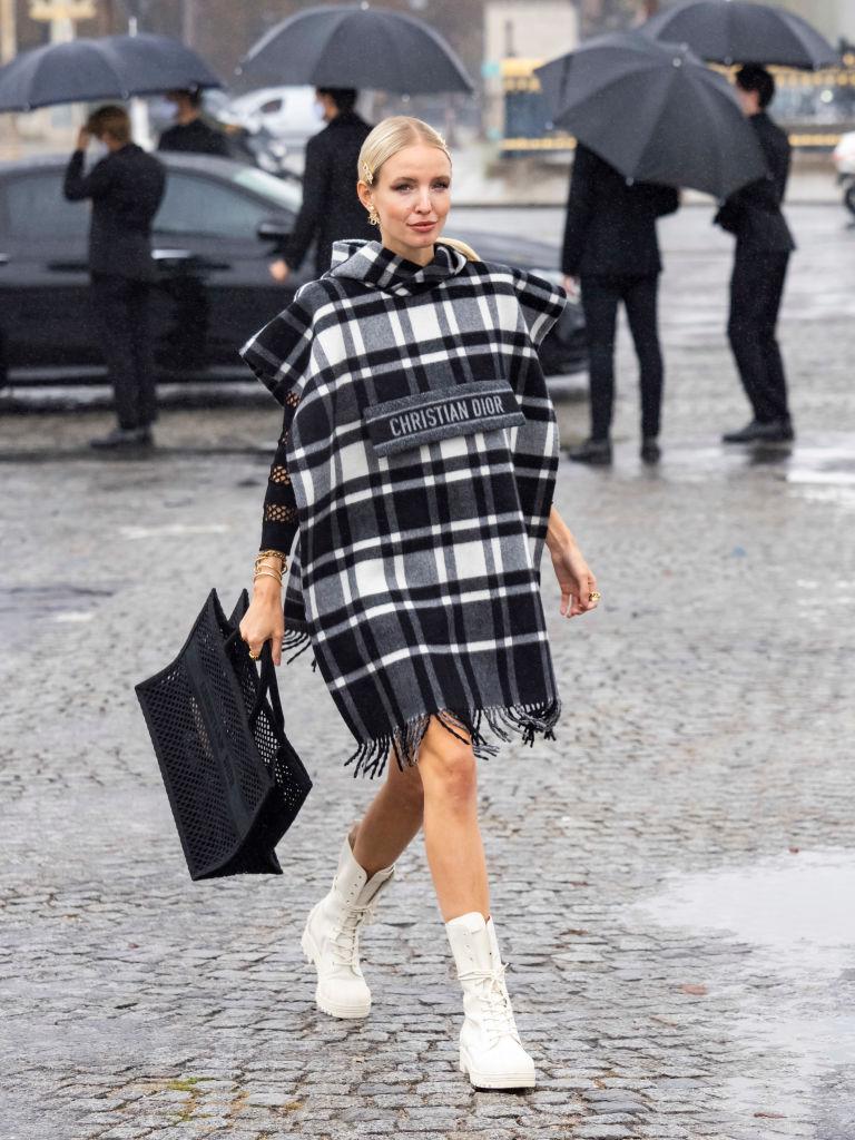 Street style: самые стильные гости показа Dior