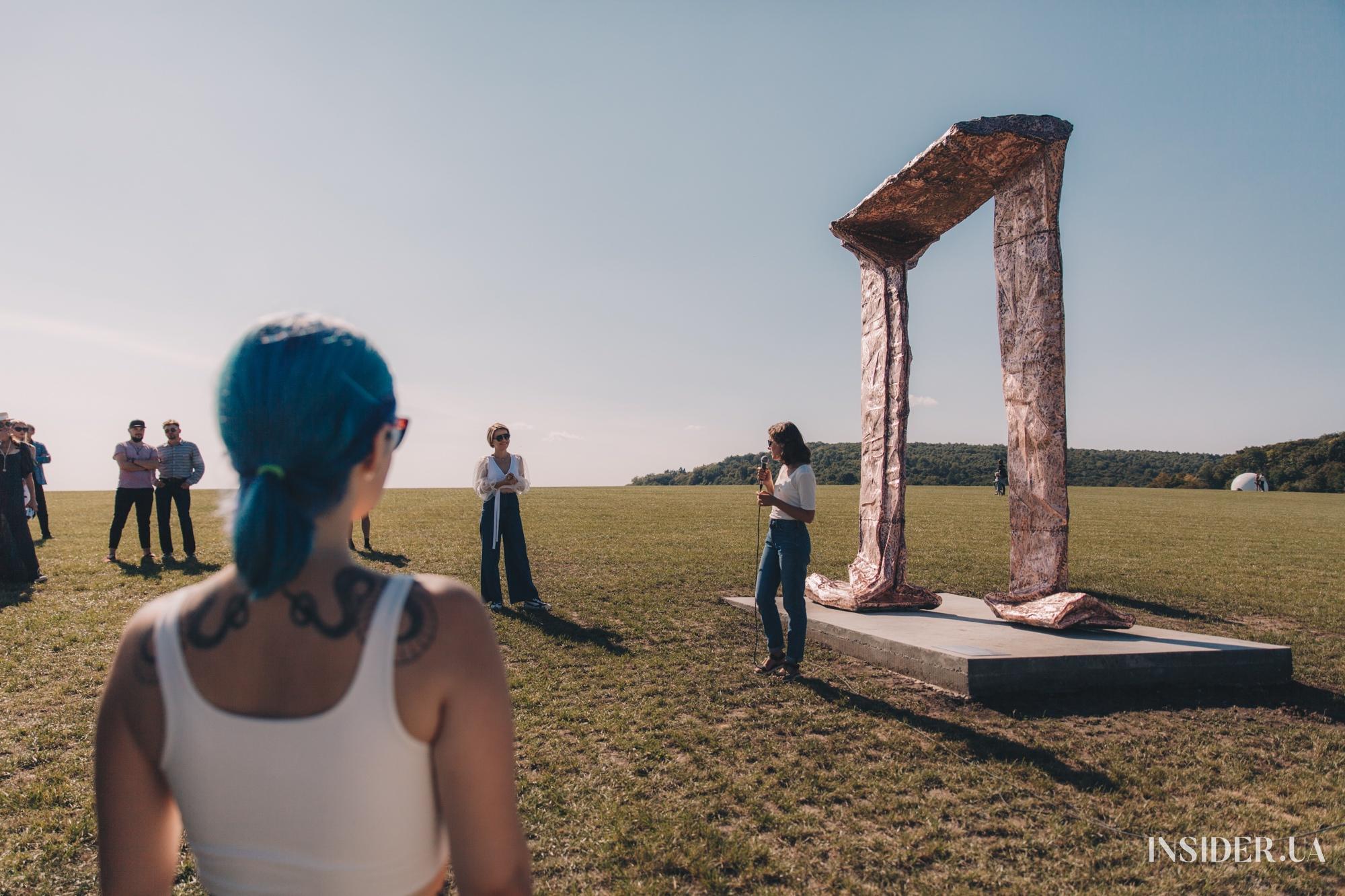 Открытие PARK3020: первый публичный парк современной скульптуры в Украине
