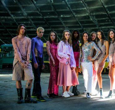 Love Kyiv: показ коллекции Жана Грицфельда в культовом автопарке №7