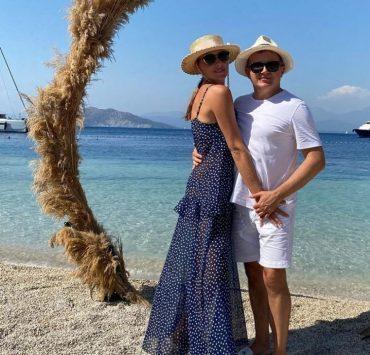 Happy time: романтична відпустка Каті Осадчої та Юрія Горбунова в Туреччині