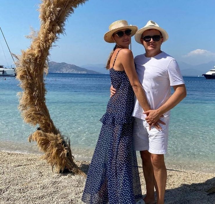 Happy time: романтический отпуск Кати Осадчей и Юрия Горбунова в Турции