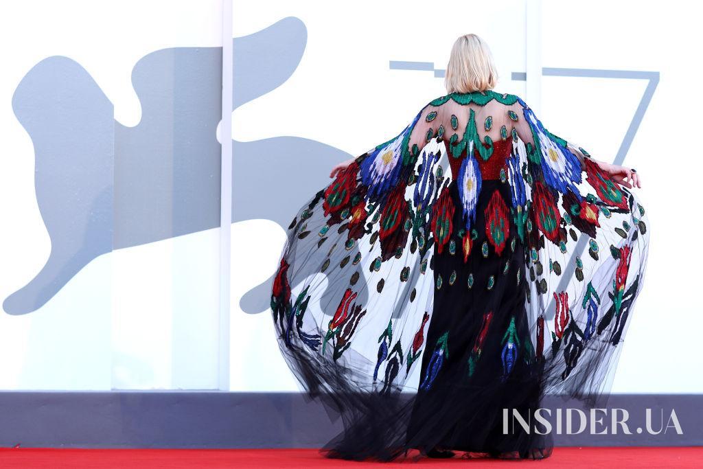 Від кутюр: Кейт Бланшетт на церемонії закриття Венеціанського кінофестивалю